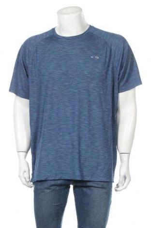 Ανδρικό t-shirt Champion, Μέγεθος XXL, Χρώμα Μπλέ, Πολυεστέρας, Τιμή 10,39€
