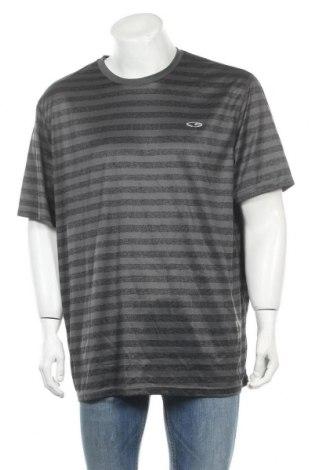 Ανδρικό t-shirt Champion, Μέγεθος XXL, Χρώμα Γκρί, Πολυεστέρας, Τιμή 11,11€