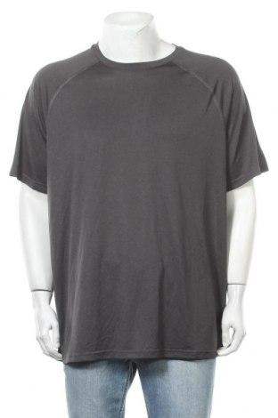 Ανδρικό t-shirt Champion, Μέγεθος XXL, Χρώμα Γκρί, Πολυεστέρας, Τιμή 10,39€