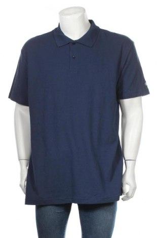 Ανδρικό t-shirt Champion, Μέγεθος XXL, Χρώμα Μπλέ, Βαμβάκι, Τιμή 7,73€