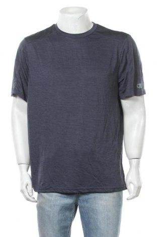 Ανδρικό t-shirt Champion, Μέγεθος XL, Χρώμα Μπλέ, Πολυεστέρας, Τιμή 5,52€