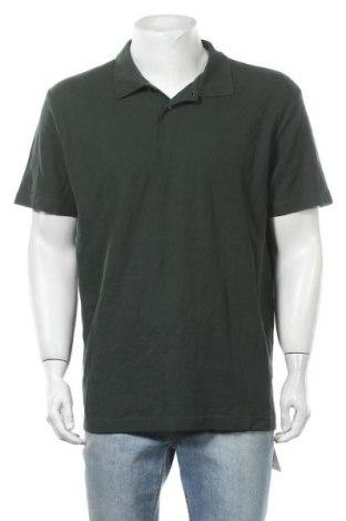 Ανδρικό t-shirt Champion, Μέγεθος XXL, Χρώμα Πράσινο, Βαμβάκι, Τιμή 11,04€
