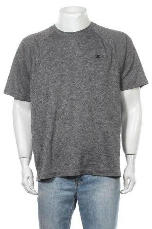 Ανδρικό t-shirt Champion, Μέγεθος XL, Χρώμα Γκρί, Τιμή 9,35€