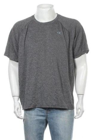 Ανδρικό t-shirt Champion, Μέγεθος XXL, Χρώμα Γκρί, Πολυεστέρας, Τιμή 11,69€