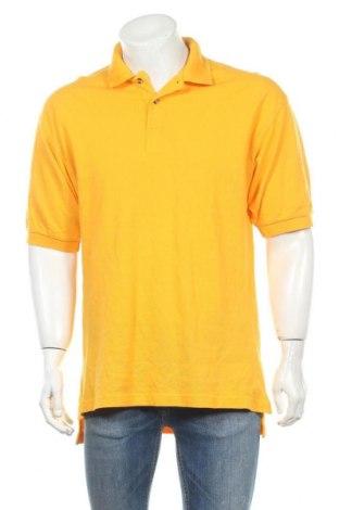 Ανδρικό t-shirt Champion, Μέγεθος L, Χρώμα Κίτρινο, Βαμβάκι, Τιμή 11,04€