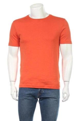 Ανδρικό t-shirt Charles Vogele, Μέγεθος L, Χρώμα Πορτοκαλί, Βαμβάκι, Τιμή 5,52€