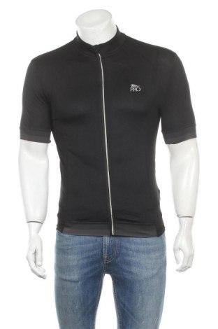 Мъжка тениска Crivit, Размер M, Цвят Черен, 90% полиестер, 10% еластан, Цена 16,80лв.