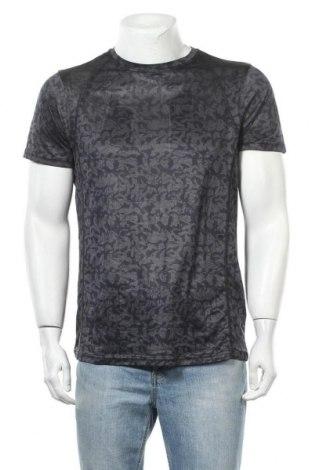 Мъжка тениска Crivit, Размер M, Цвят Сив, Полиестер, Цена 15,12лв.