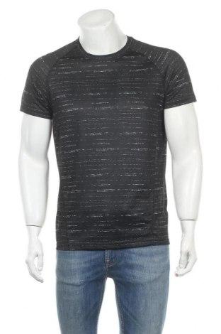Мъжка тениска Crivit, Размер M, Цвят Черен, Полиестер, Цена 14,70лв.