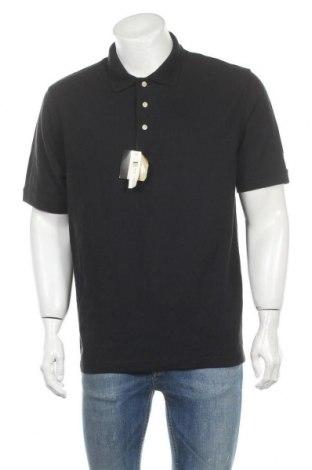 Мъжка тениска Croft & Barrow, Размер L, Цвят Син, Памук, Цена 25,20лв.