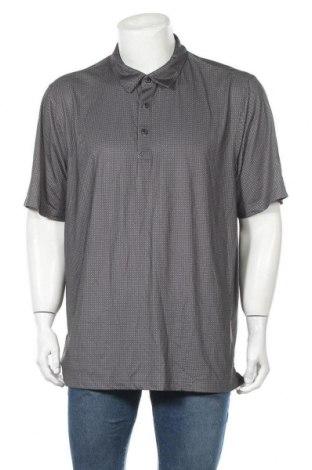 Мъжка тениска Cutter & Buck, Размер XL, Цвят Сив, 94% полиестер, 6% еластан, Цена 4,73лв.