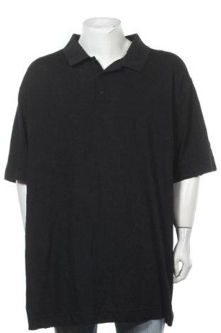 Мъжка тениска Cutter & Buck, Размер 3XL, Цвят Черен, 65% памук, 35% полиестер, Цена 34,02лв.