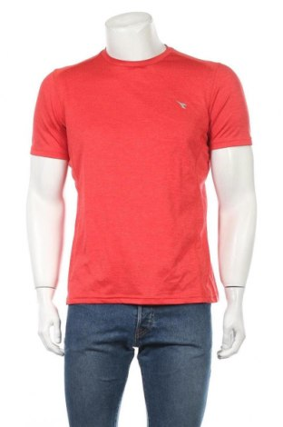 Ανδρικό t-shirt Diadora, Μέγεθος M, Χρώμα Κόκκινο, Τιμή 8,77€