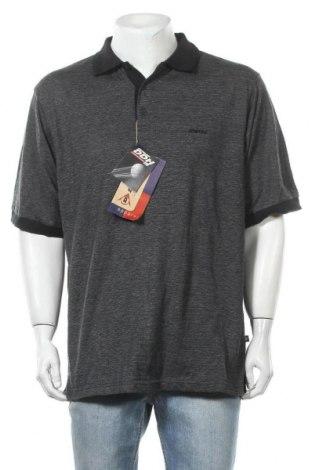 Ανδρικό t-shirt Dunlop, Μέγεθος XL, Χρώμα Μαύρο, Πολυεστέρας, βαμβάκι, Τιμή 13,51€
