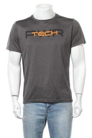 Ανδρικό t-shirt Energetics, Μέγεθος L, Χρώμα Γκρί, Πολυεστέρας, Τιμή 7,40€