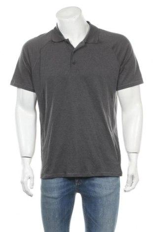 Мъжка тениска Gap, Размер L, Цвят Сив, 77% полиестер, 18% лиосел, 5% еластан, Цена 18,90лв.