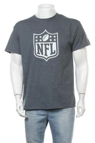 Мъжка тениска Gildan, Размер L, Цвят Сив, 50% памук, 50% полиестер, Цена 15,12лв.