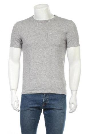 Мъжка тениска H&M L.O.G.G., Размер S, Цвят Сив, 60% памук, 40% полиестер, Цена 10,24лв.