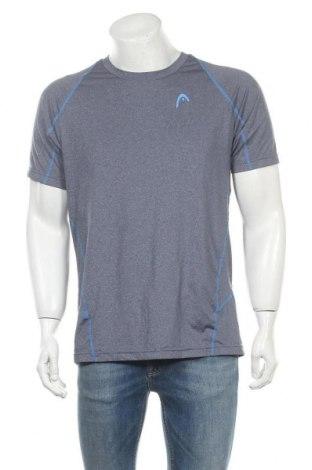 Ανδρικό t-shirt Head, Μέγεθος L, Χρώμα Γκρί, 94% πολυεστέρας, 16% ελαστάνη, Τιμή 9,35€