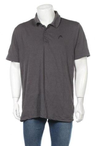 Ανδρικό t-shirt Head, Μέγεθος XL, Χρώμα Γκρί, 90% πολυεστέρας, 10% ελαστάνη, Τιμή 7,27€