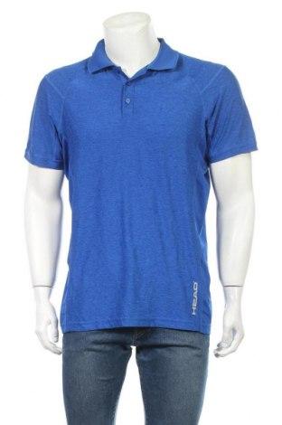 Ανδρικό t-shirt Head, Μέγεθος M, Χρώμα Μπλέ, 96% πολυεστέρας, 4% ελαστάνη, Τιμή 8,18€