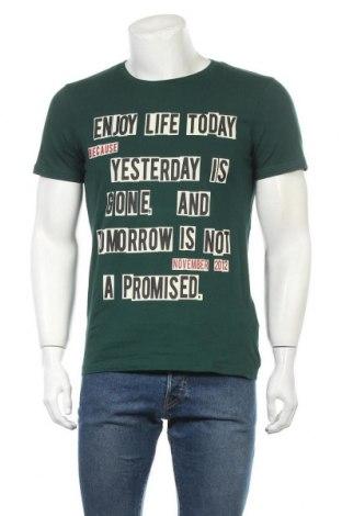 Ανδρικό t-shirt Kenvelo, Μέγεθος M, Χρώμα Πράσινο, Βαμβάκι, Τιμή 9,87€