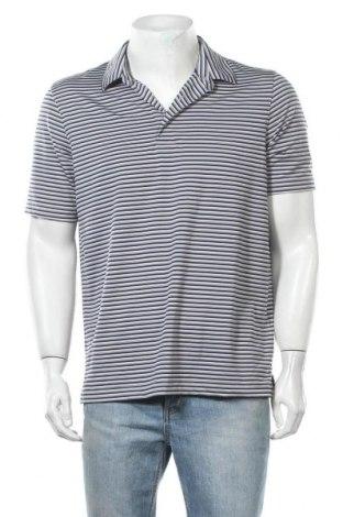 Мъжка тениска Land's End, Размер M, Цвят Многоцветен, 87% полиестер, 13% еластан, Цена 10,24лв.