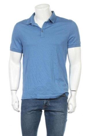 Мъжка тениска Michael Kors, Размер L, Цвят Син, Памук, Цена 53,55лв.
