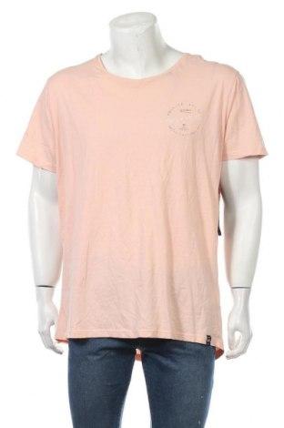 Мъжка тениска Mossimo, Размер XXL, Цвят Розов, Памук, Цена 24,99лв.