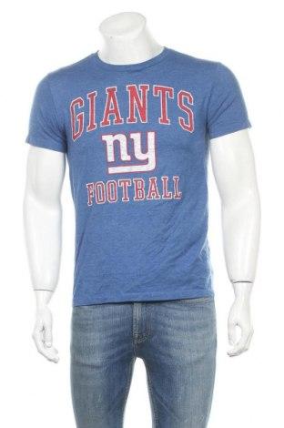 Ανδρικό t-shirt NFL, Μέγεθος S, Χρώμα Μπλέ, 50% βαμβάκι, 50% πολυεστέρας, Τιμή 7,79€