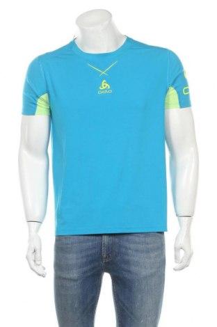 Мъжка тениска Odlo, Размер L, Цвят Син, Цена 18,90лв.