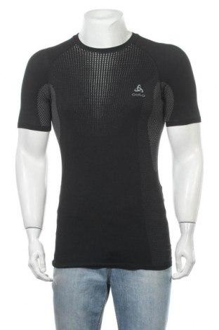 Мъжка тениска Odlo, Размер S, Цвят Черен, 66% полиамид, 27% полиестер, 7% еластан, Цена 44,25лв.