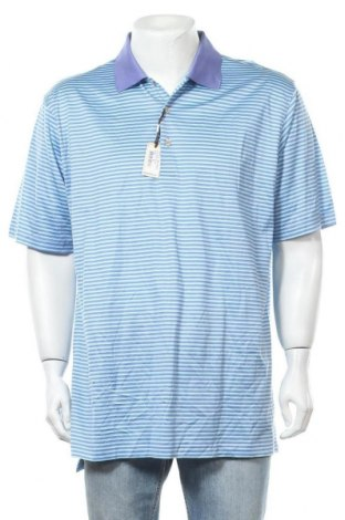 Ανδρικό t-shirt Peter Millar, Μέγεθος XL, Χρώμα Μπλέ, Βαμβάκι, Τιμή 39,74€