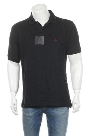 Ανδρικό t-shirt Polo, Μέγεθος XL, Χρώμα Μαύρο, Βαμβάκι, Τιμή 34,49€