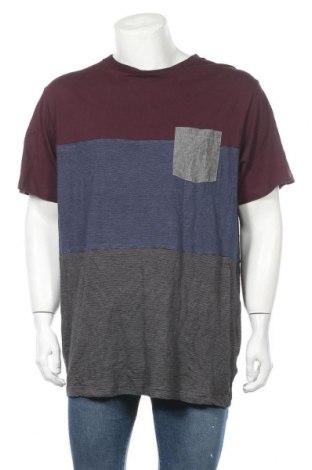 Мъжка тениска Rip Curl, Размер 3XL, Цвят Многоцветен, 67% памук, 33% вискоза, Цена 24,94лв.