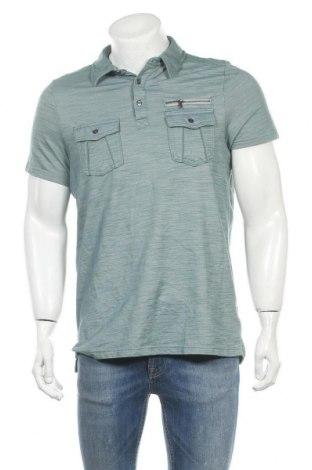 Ανδρικό t-shirt Rock & Republic, Μέγεθος L, Χρώμα Πράσινο, 65% βαμβάκι, 35% πολυεστέρας, Τιμή 9,35€