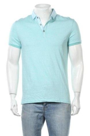Мъжка тениска Rw & Co., Размер M, Цвят Син, Памук, Цена 17,01лв.