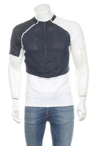 Мъжка тениска Salomon, Размер M, Цвят Бял, 92% полиестер, 8% еластан, Цена 28,56лв.