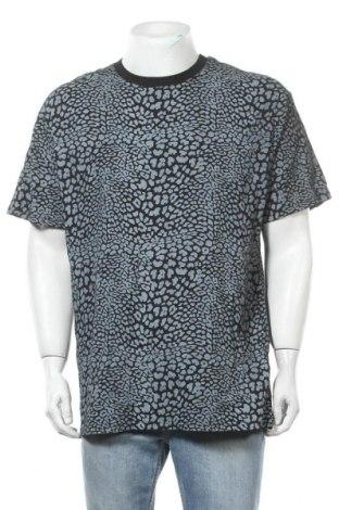 Ανδρικό t-shirt Supre, Μέγεθος M, Χρώμα Γκρί, Βαμβάκι, Τιμή 14,36€