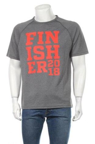 Мъжка тениска Tee Jays, Размер L, Цвят Сив, Полиестер, Цена 16,80лв.