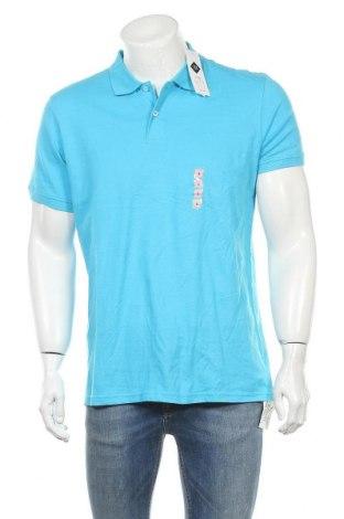 Ανδρικό t-shirt Tex, Μέγεθος L, Χρώμα Μπλέ, Βαμβάκι, Τιμή 11,37€