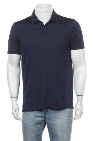 Мъжка тениска Uniqlo, Размер L, Цвят Син, Полиестер, Цена 10,08лв.