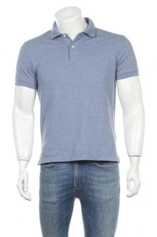 Мъжка тениска Uniqlo, Размер S, Цвят Син, 72% памук, 28% полиестер, Цена 14,18лв.