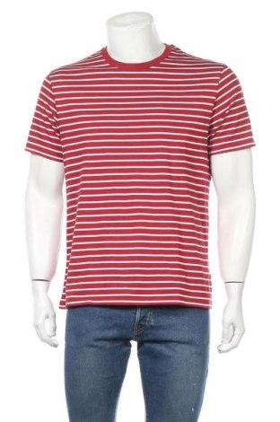 Мъжка тениска Uniqlo, Размер L, Цвят Червен, Цена 12,50лв.