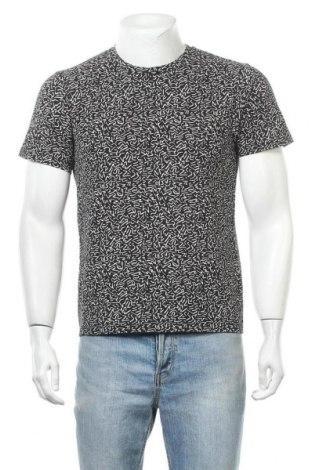Мъжка тениска Uniqlo, Размер S, Цвят Черен, Памук, Цена 28,35лв.