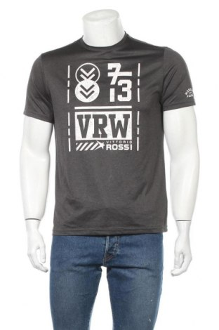 Мъжка тениска Vittorio Rossi, Размер M, Цвят Сив, 100% полиестер, Цена 16,80лв.