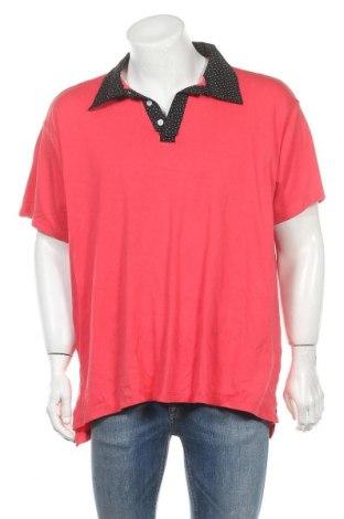 Мъжка тениска, Размер XXL, Цвят Червен, Памук, Цена 10,24лв.