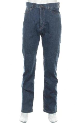 Мъжки дънки Marks & Spencer, Размер M, Цвят Син, 99% памук, 1% еластан, Цена 27,00лв.