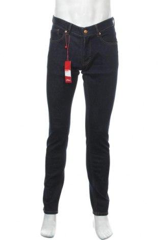 Мъжки дънки Q/S by S.Oliver, Размер S, Цвят Син, 99% памук, 1% еластан, Цена 66,75лв.