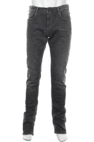 Мъжки дънки Trussardi Jeans, Размер L, Цвят Сив, 96% памук, 3% полиестер, 1% еластан, Цена 156,75лв.